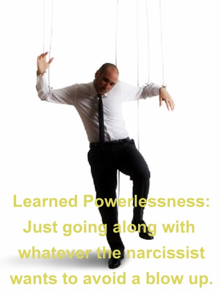 learned powerlessness