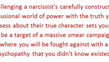 Narcissists are Character Assassins | After Narcissistic Abuse