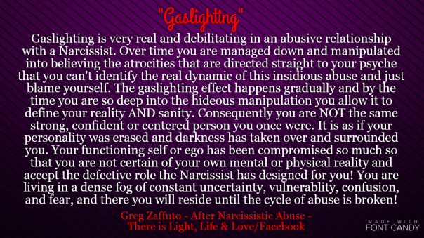 March | 2016 | After Narcissistic Abuse