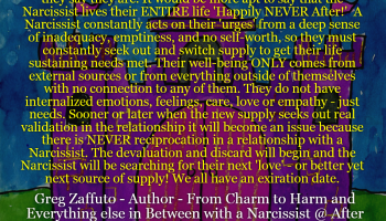 """The Narcissist """"I was stalking"""" – Reverse Buddhist Theory   After"""