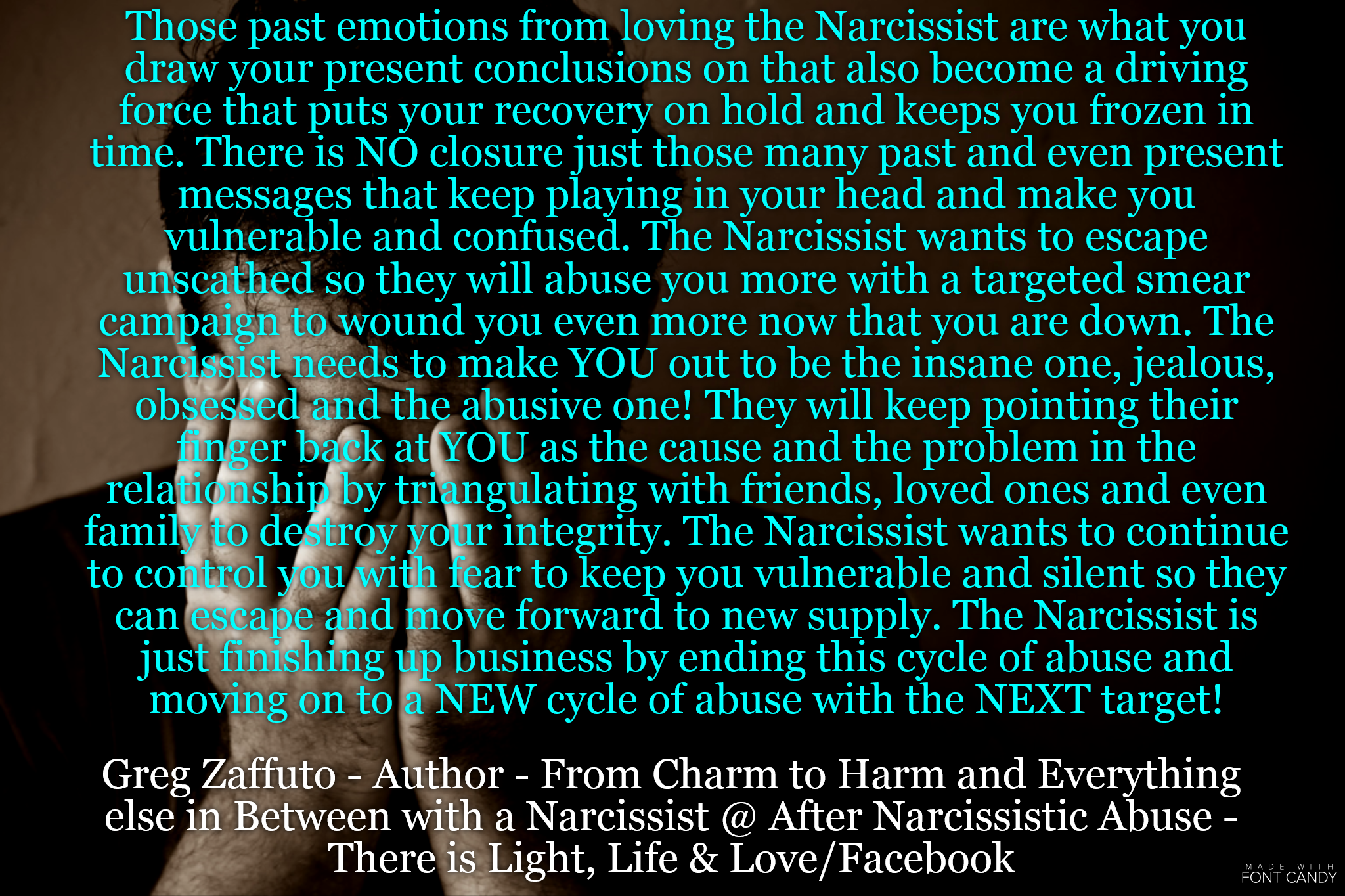 Narcissists move on fast