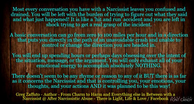 Image result for narcissist argument deflection