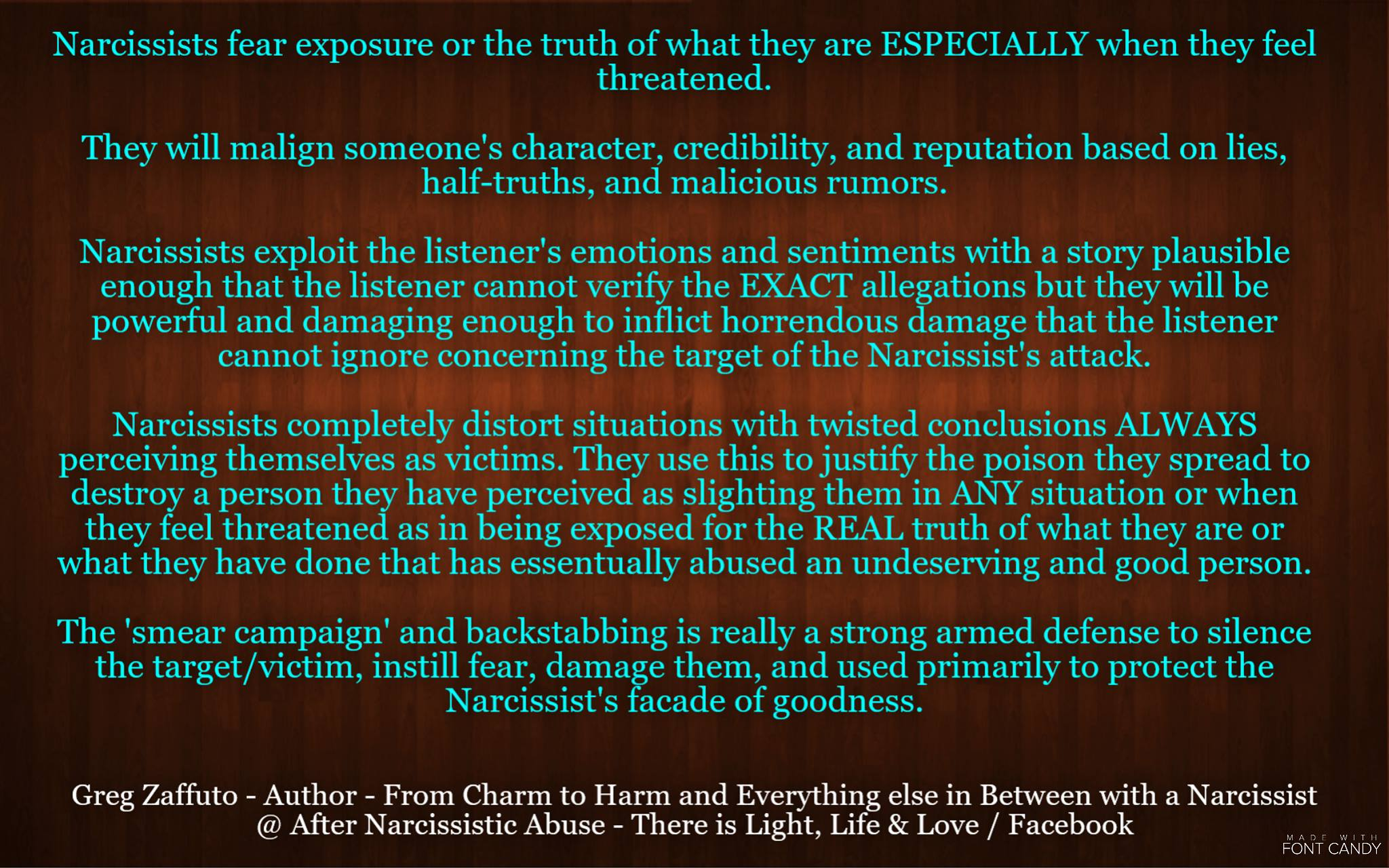 The Narcissist's pawns! Why do Narcissists have close and dedicated