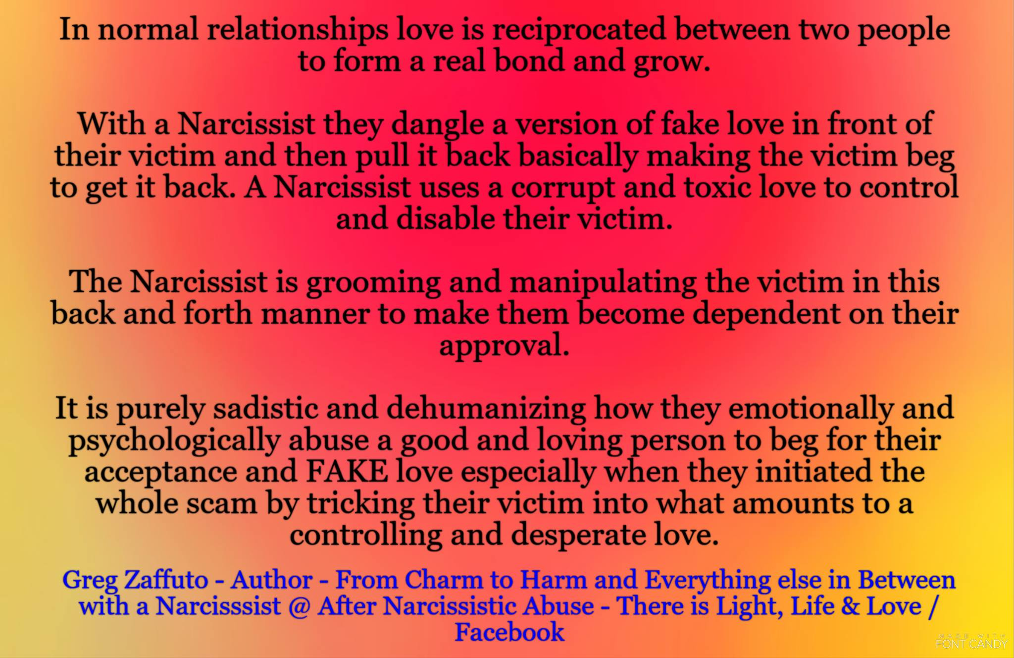 The highs and lows of an emotionally and psychologically abusive