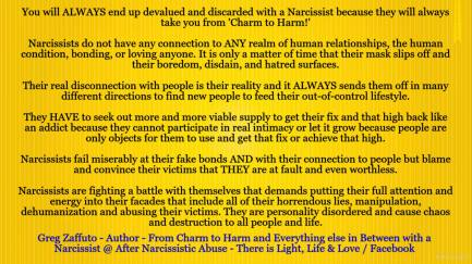 Variety is the spice of life and with a Narcissist it could