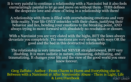 2017 | After Narcissistic Abuse