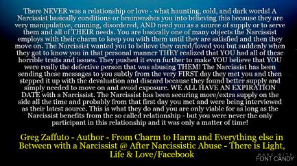 Dating a narcissist reddit