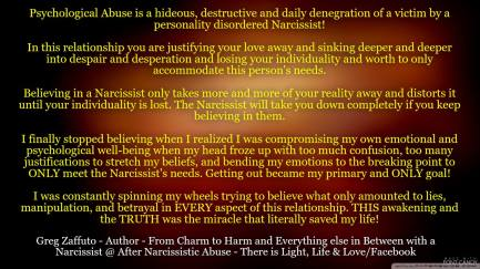 How to stop a narcissist