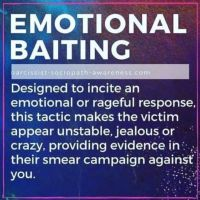 Emotional Baiting! — After Narcissistic Abuse