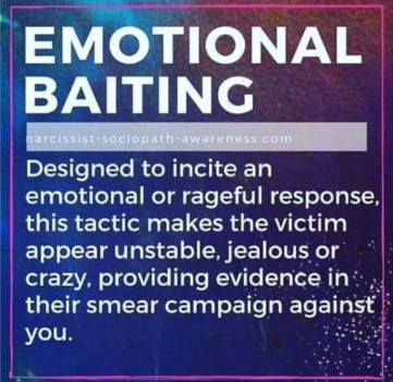 Emotional Baiting! | After Narcissistic Abuse