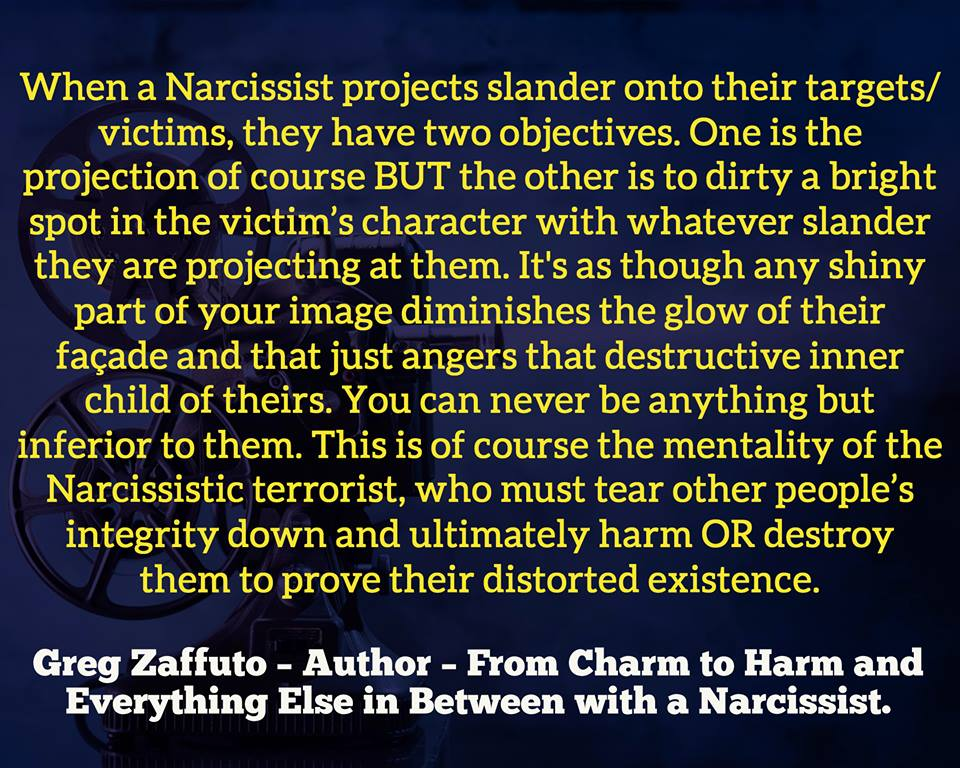 Projection and the Narcissist  | After Narcissistic Abuse