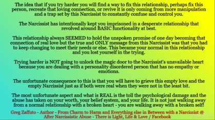 Ending ANY type of a relationship with a Narcissist is not like