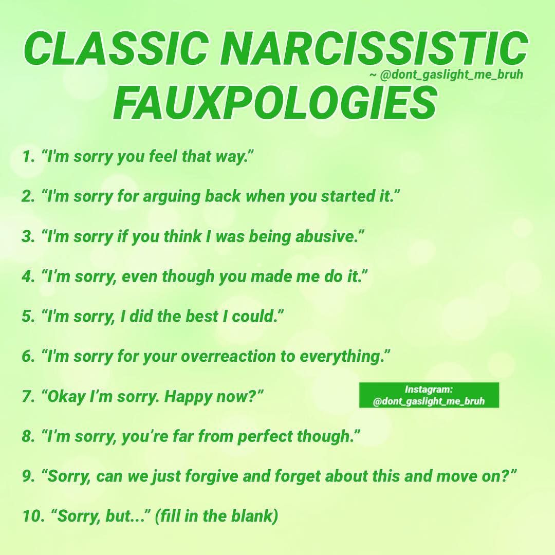 When the Narcissist responds with we are twisting THEIR words or THEIR actions, remember that it is THEIR words and actions that are twisted as well as their whole abusive lifestyle.