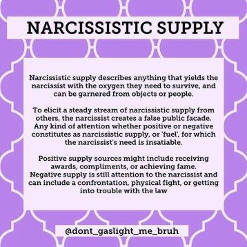 PURPLE narc supply MEME
