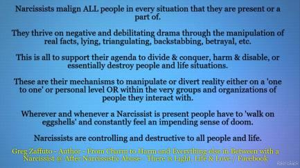 BLUE narcs malign all people MEME