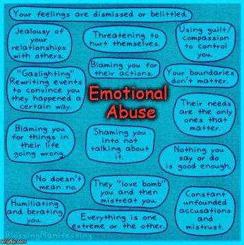 BLUE emotional abuse MEME