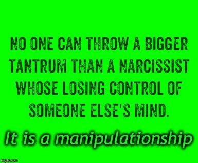 Green Manipulationship MEME