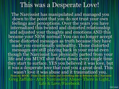 BLUEISH Striped desperate love MEME