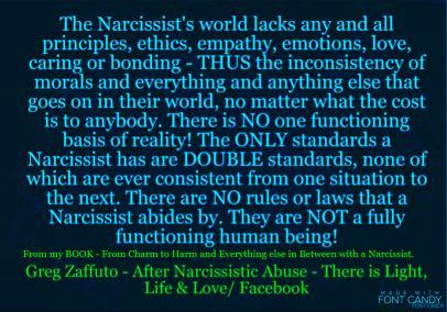 BLUE narc world lacks empathy MEME