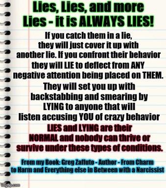 LIES lies lies MEME