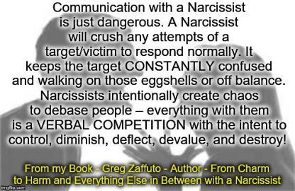 COMMUNICATION with a narc MEME