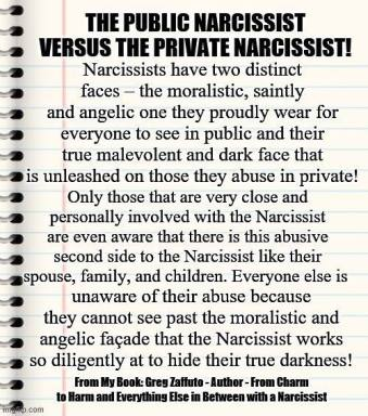 PUBLIC vs PRIVATE Narc