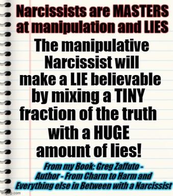 Narcs Masters of manipulation MEME